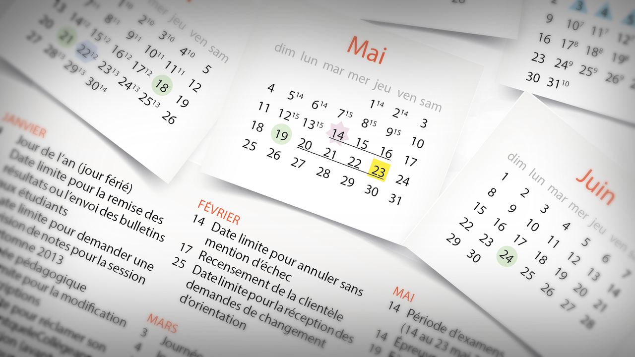 Modifications au calendrier scolaire 2020 2021 de l'enseignement