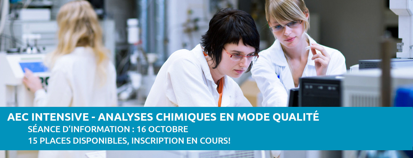 AEC intensive analyses chimiques