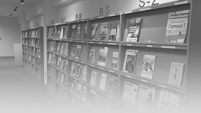 bibliotheque / collection documentaire / revues et journaux