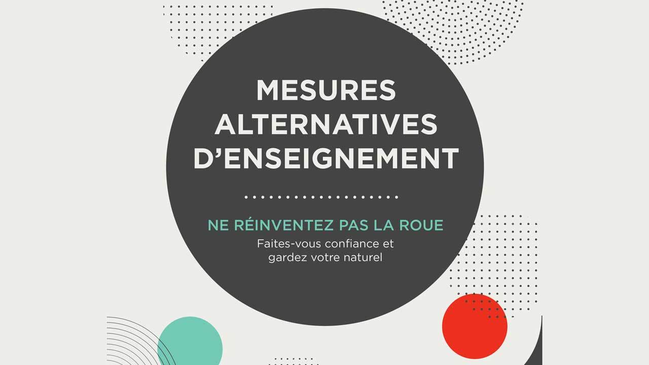 Mesures alternatives d'enseignement titre