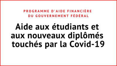 Aide financiere du gouvernement federal