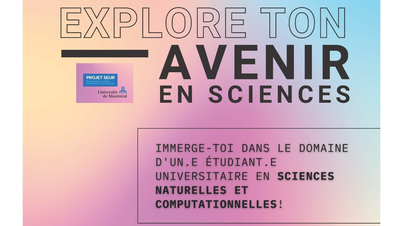 Explore ton avenir en sciences